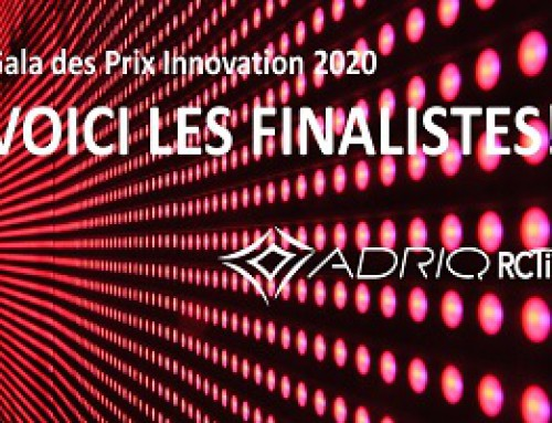 "ADRIQ-RCTi Finalists in ""Gala des prix Innovation"""